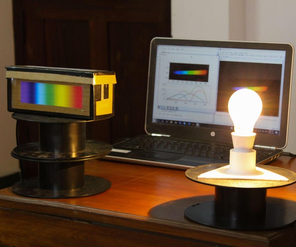 DIY低成本光谱仪