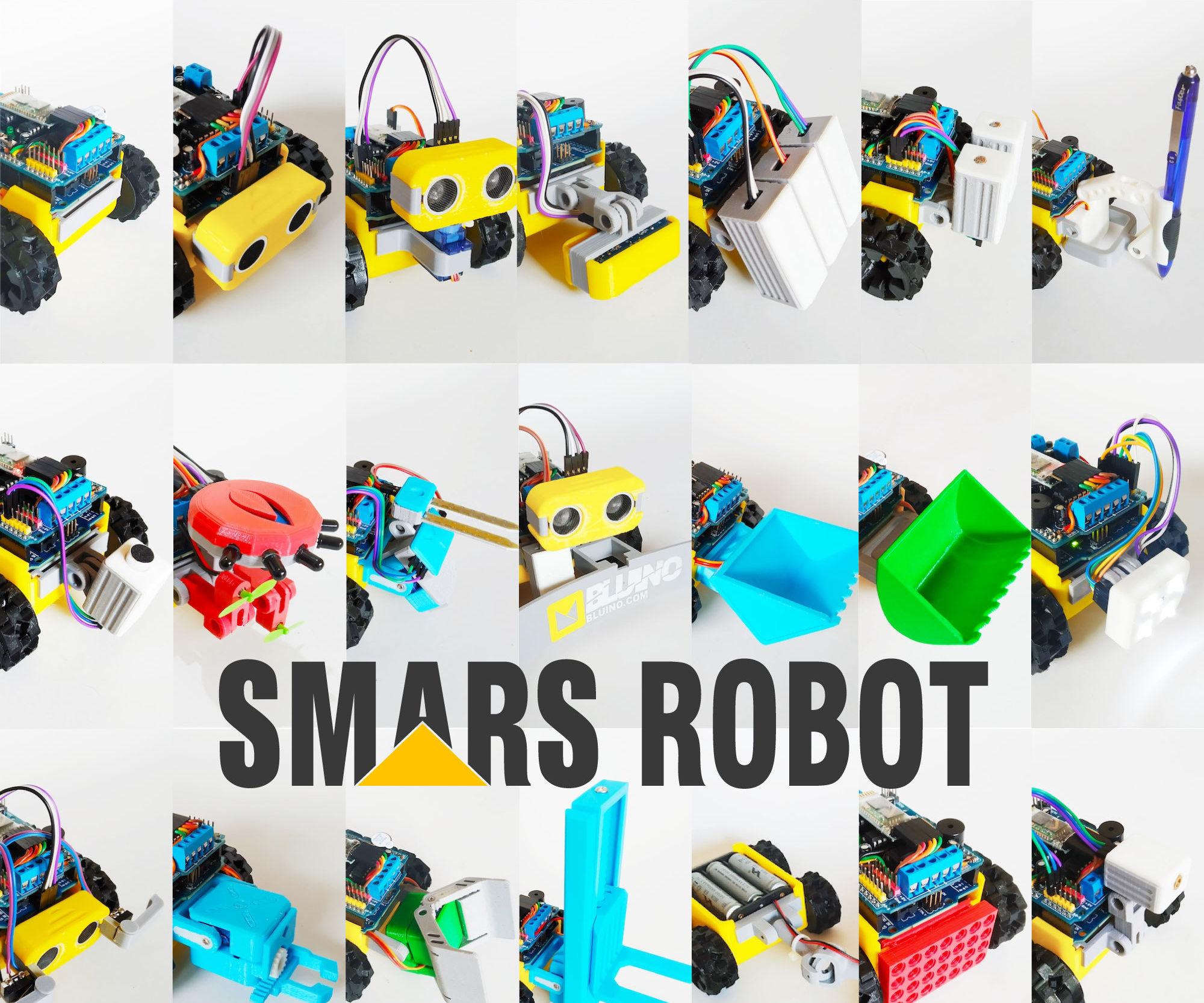SMARS Robot - Arduino Smart Robot Tank Bluetooth