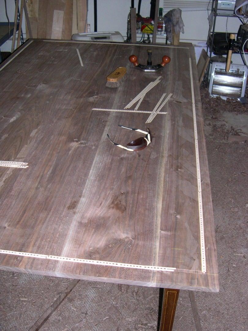 Tabletop Banding Installation