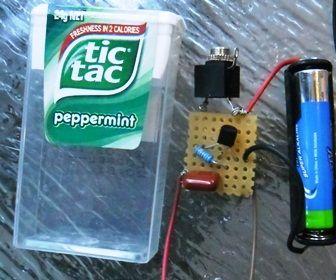Tic Tac Transistor Amp