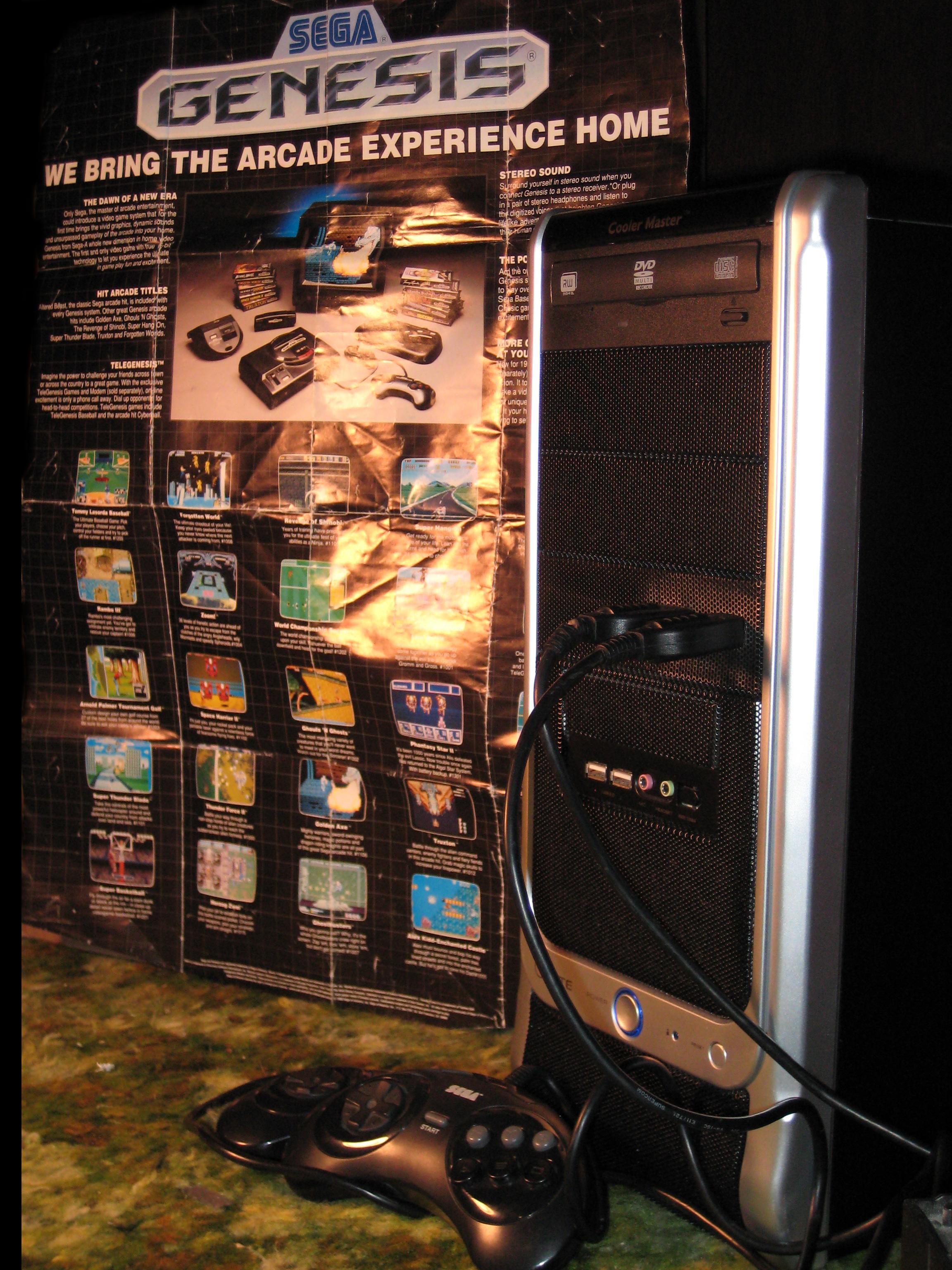 Build Sega Genesis Controller Ports for your PC!