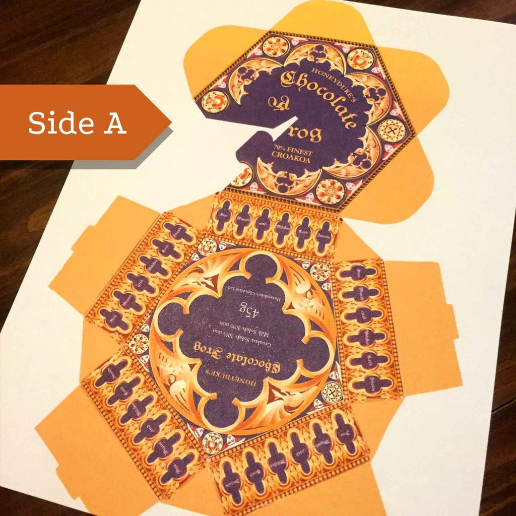 Honeyduke S Chocolate Frog Box 6 Steps With Pictures Instructables