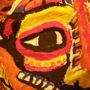 Epic Papier Mache Indian Cannibal Mask!
