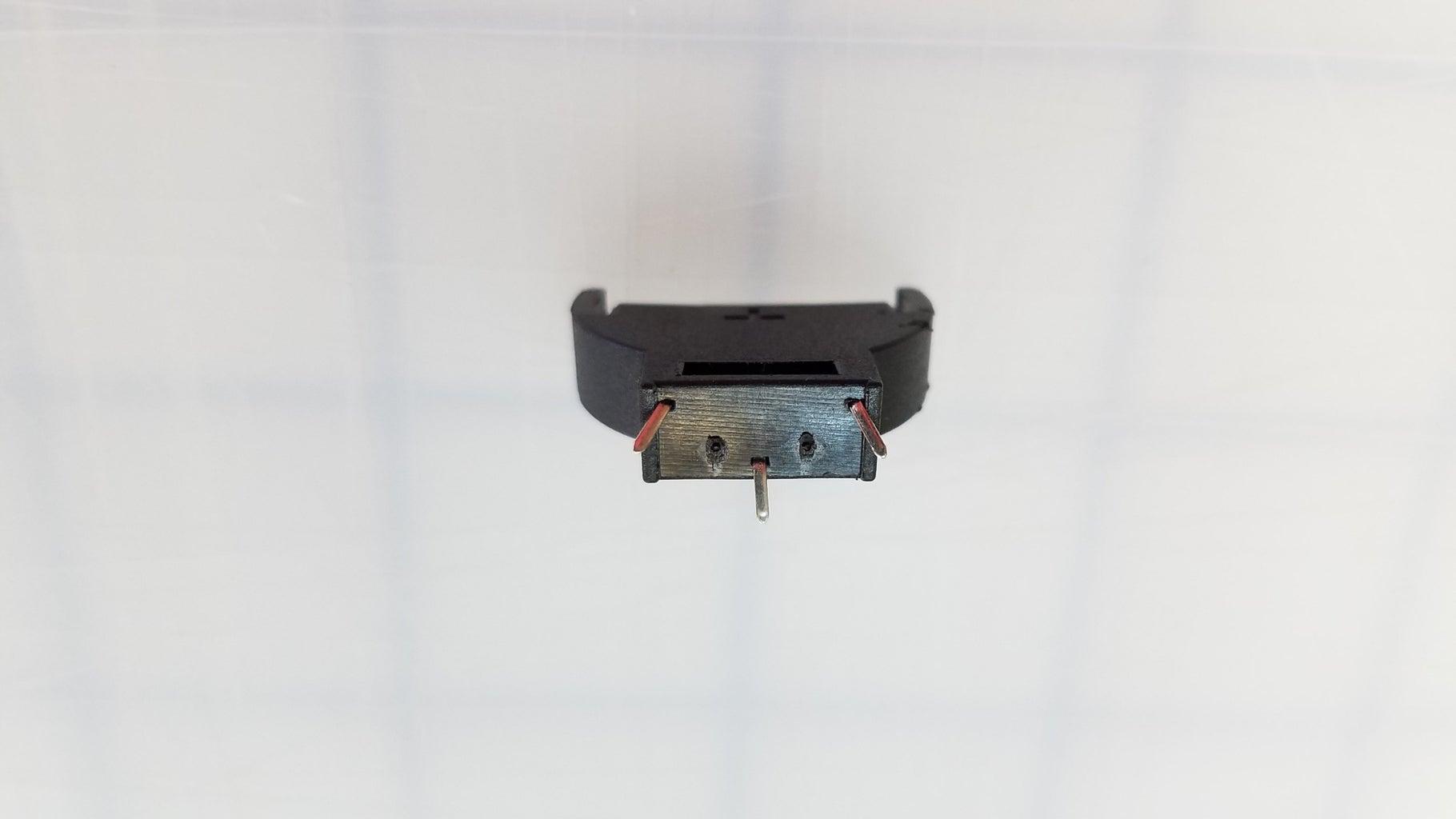 Soldering the Resistor