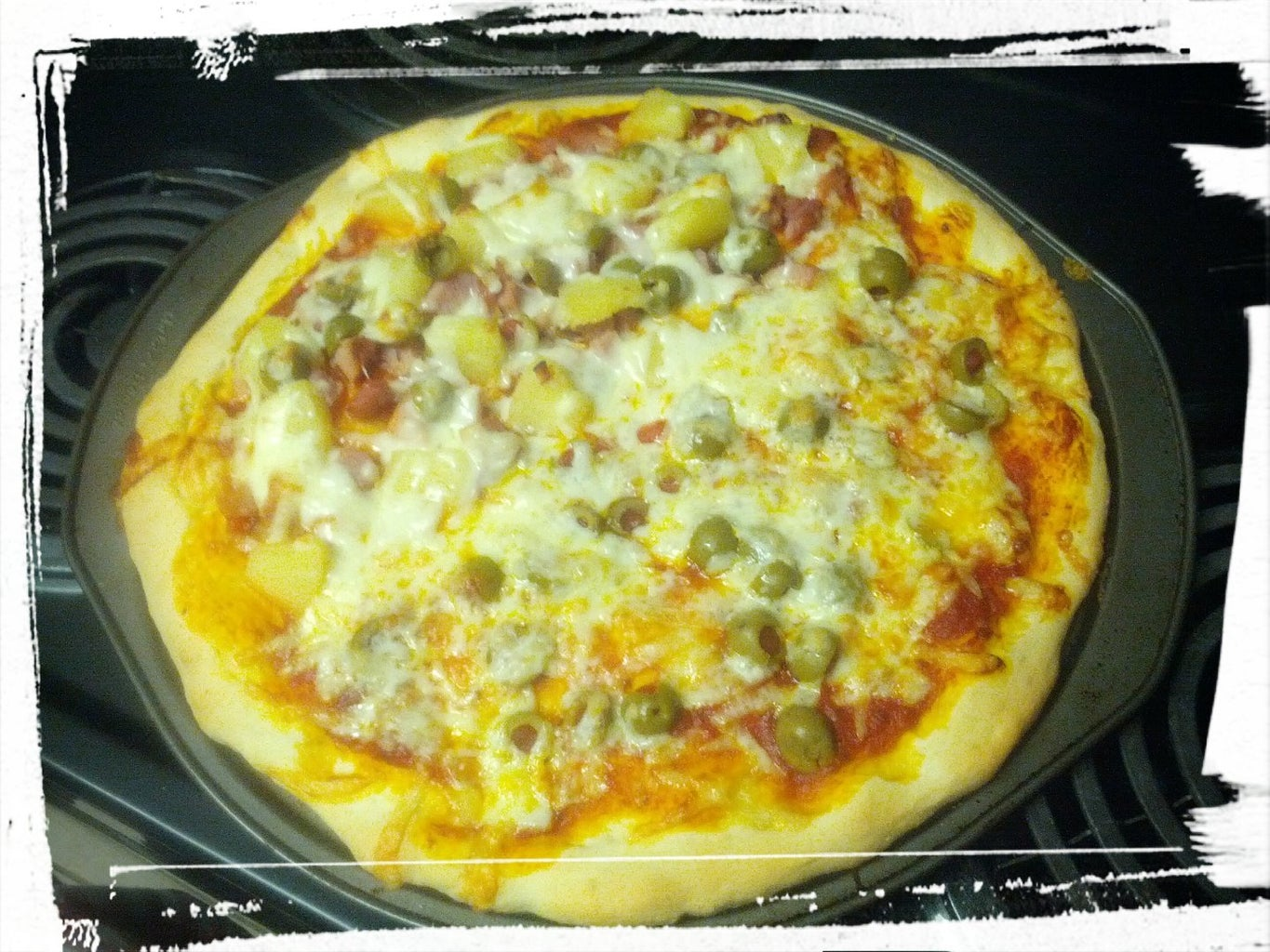 Affordable Date Night: Hawaiian Pizza From Scratch