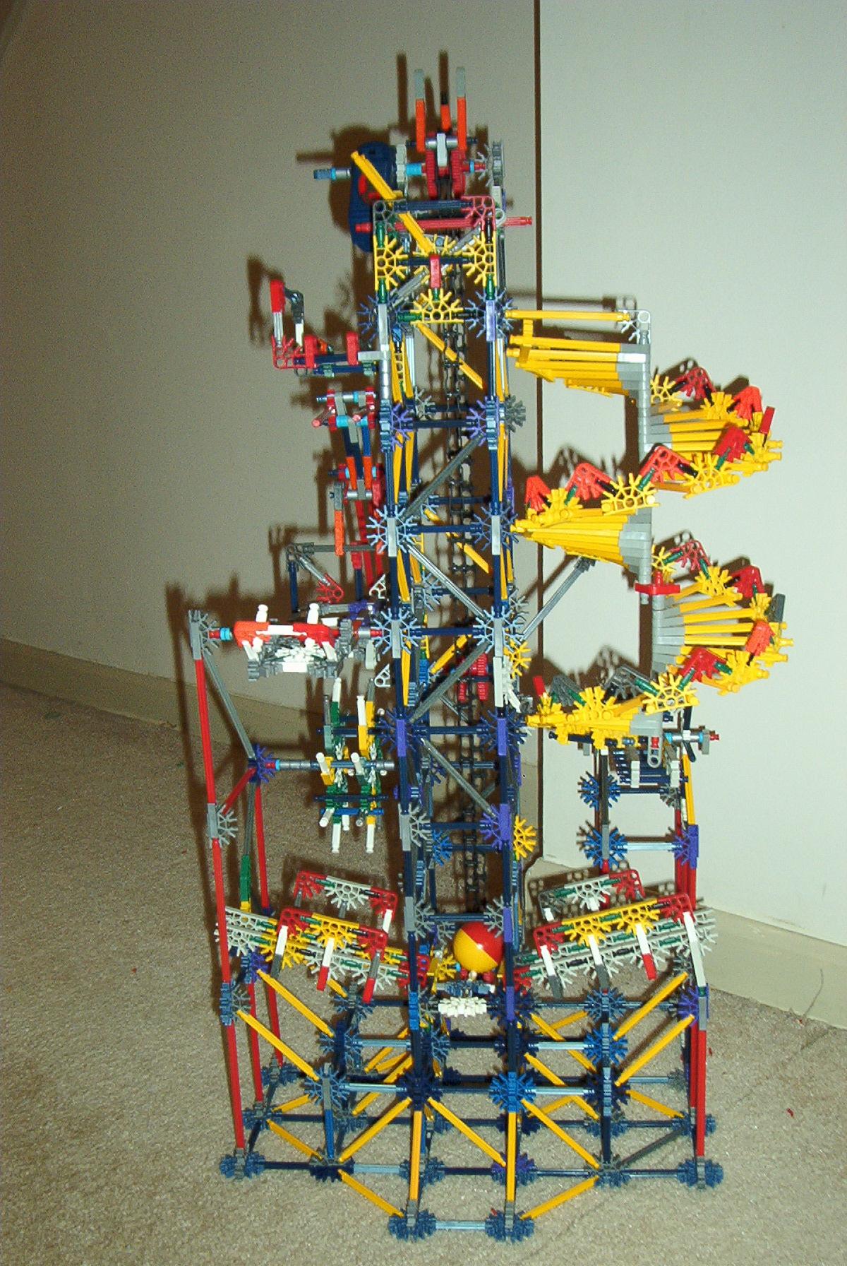 Project FREEFALL K'nex Ball Machine