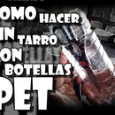 Tarro con botellas PET