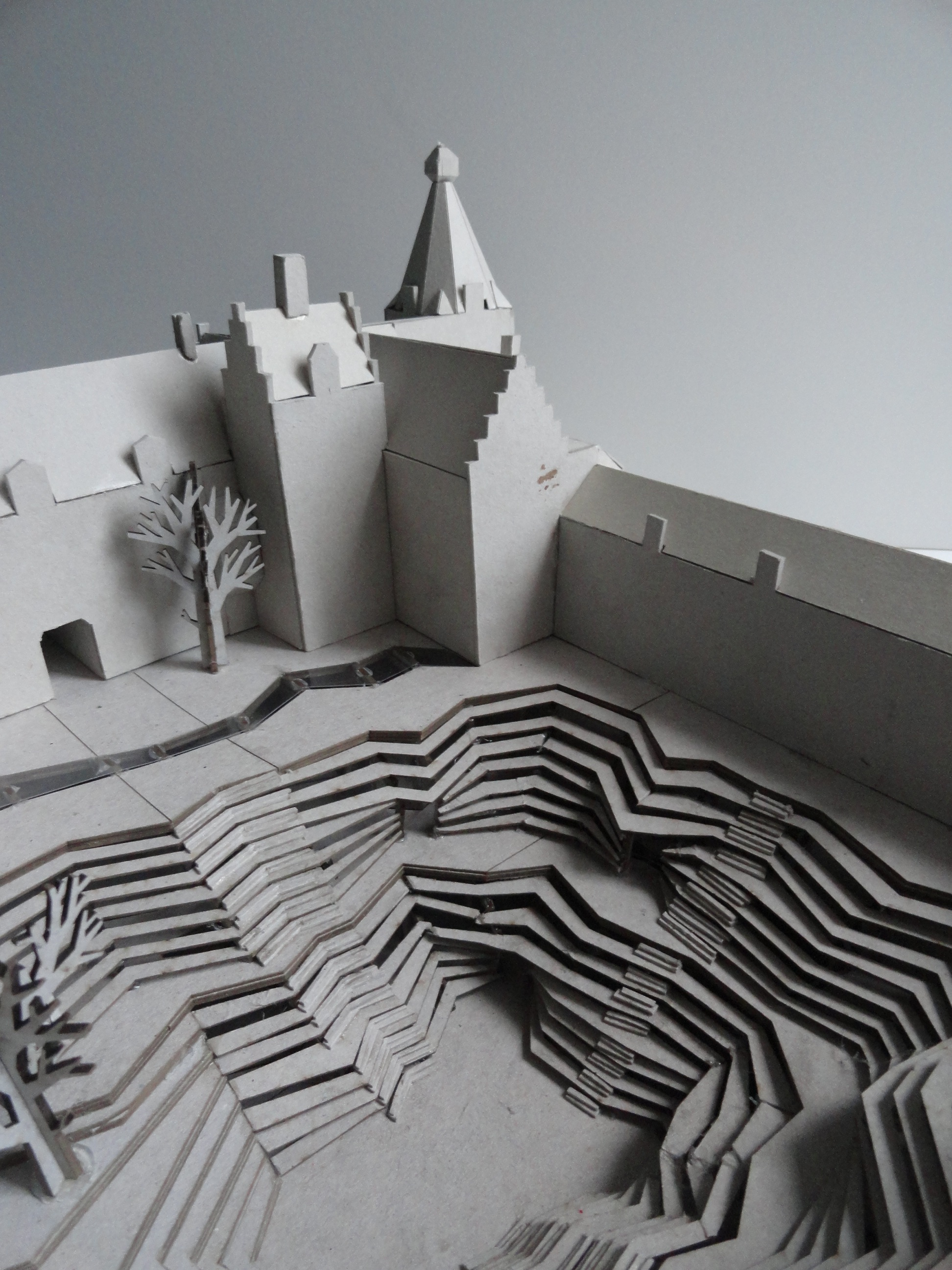 Model making with a laser cutter