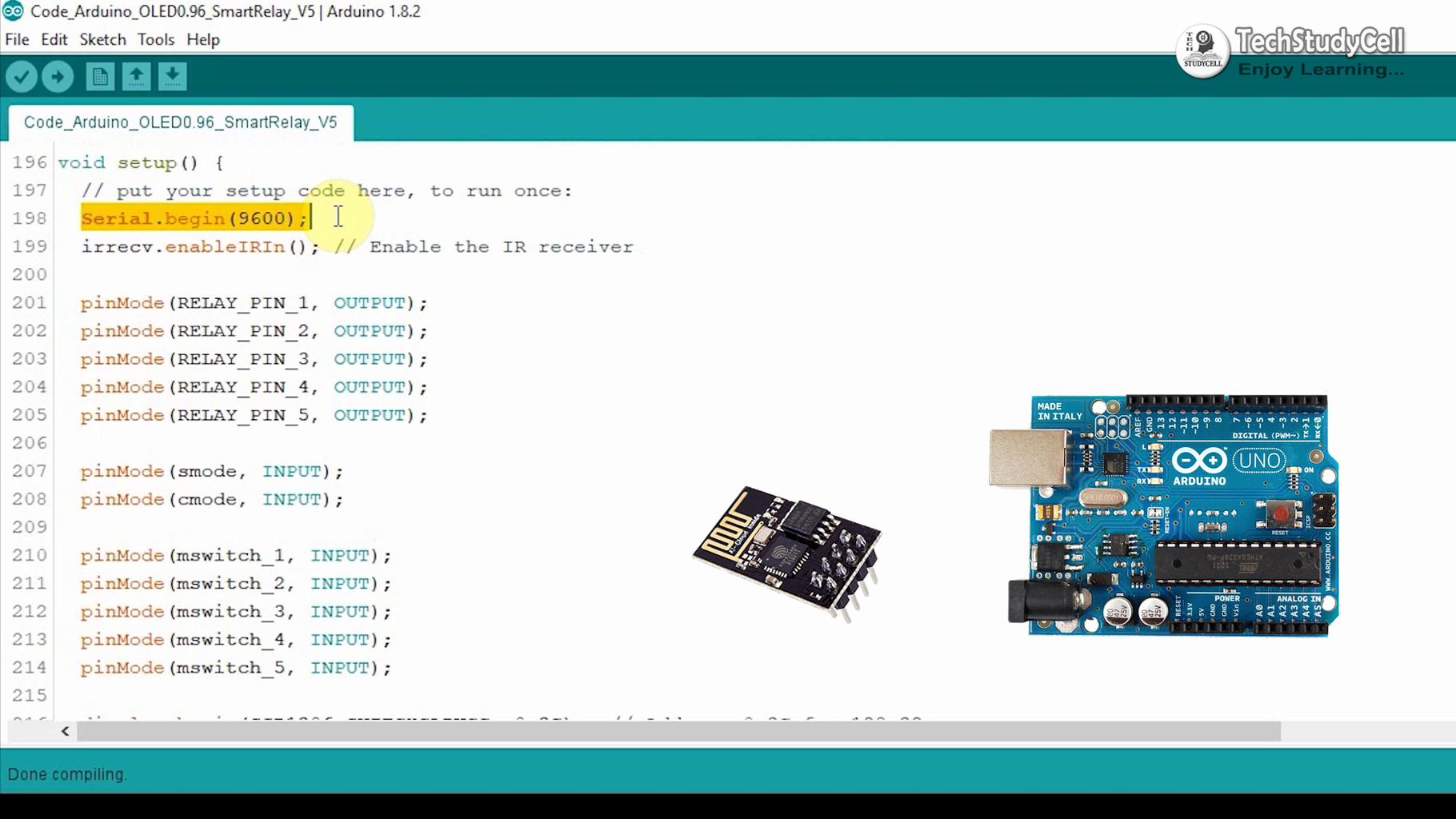 Program the Atmega328 Microcontroller