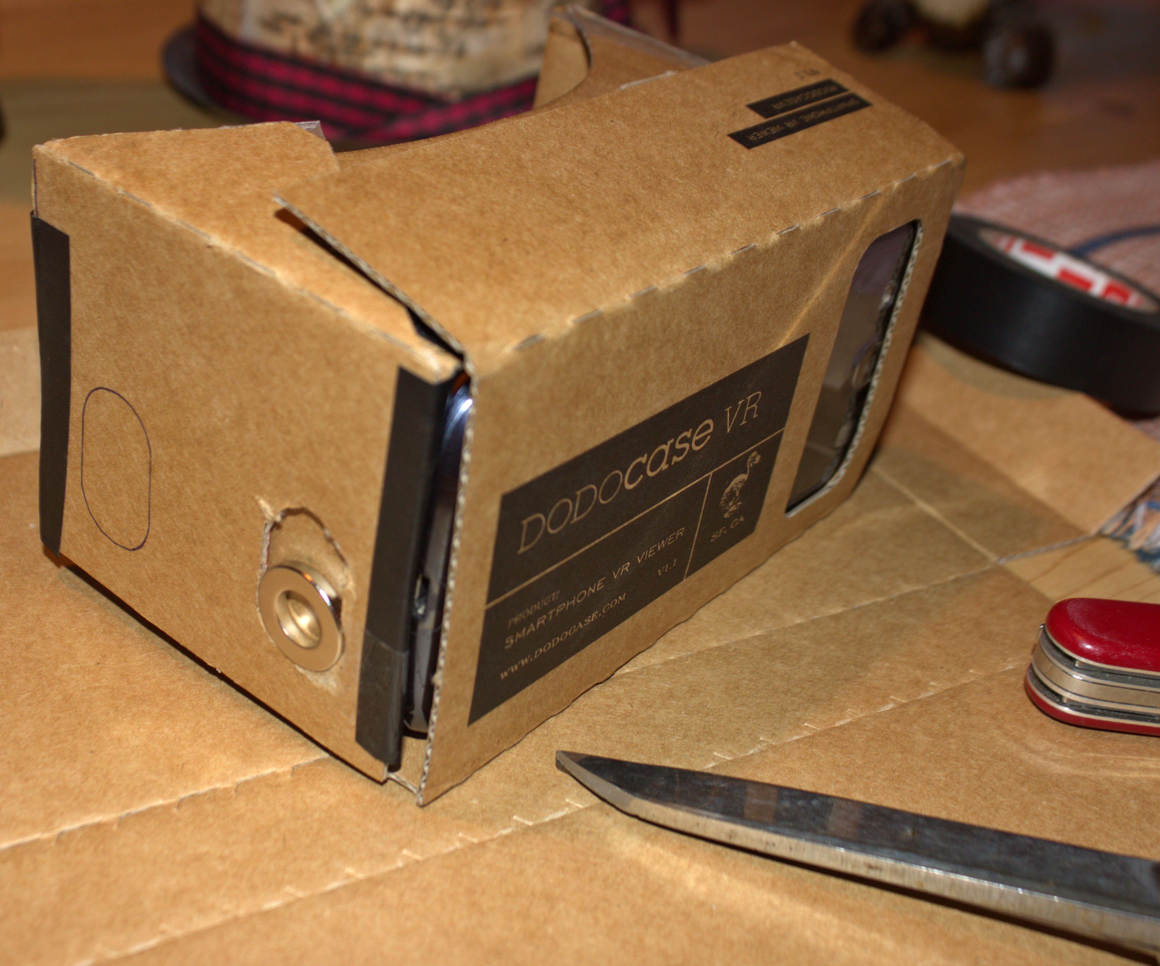 Make the DODOcase VR / Google Cardboard Switch Work - Samsung Galaxy S3 Phone