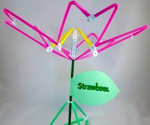 Strawbees Hydraulic Flower