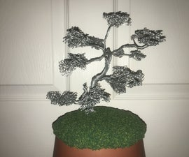 How to Make a Wire Bonsai Tree