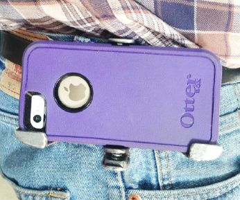 Steel Belt Clip for An Otterbox Case