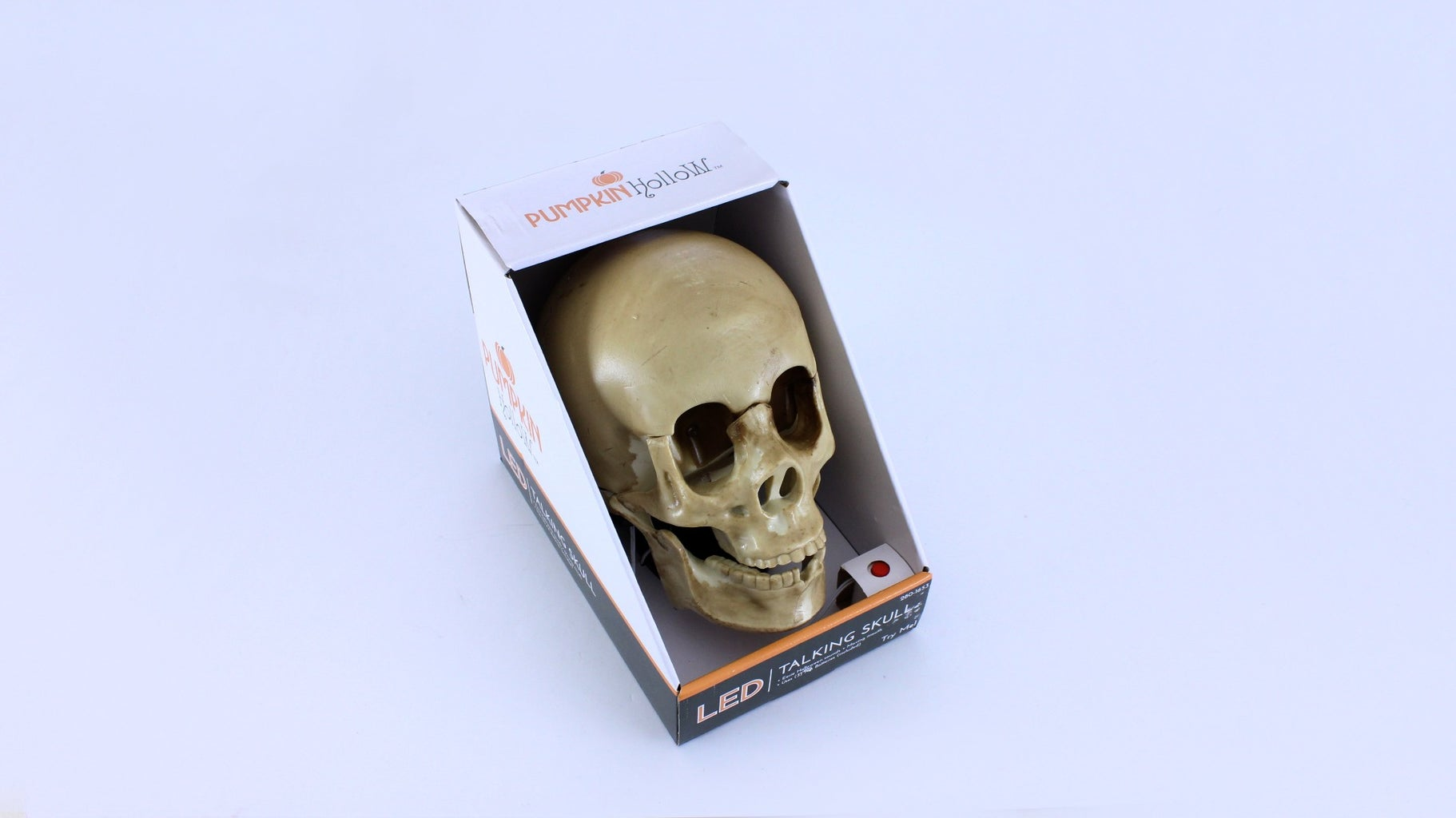 """Find a Halloween Prop With a """"Try Me"""" Button"""