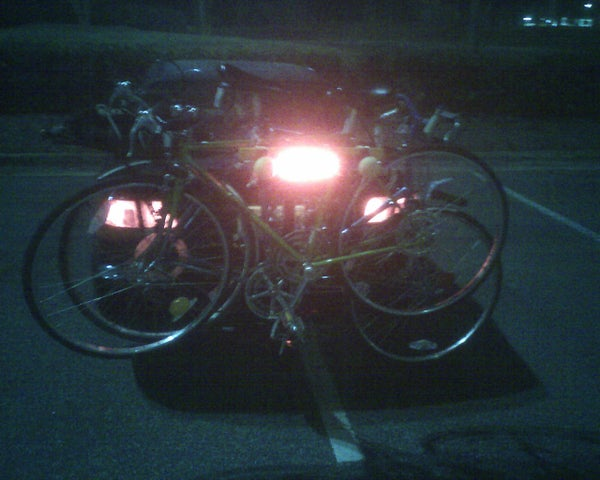 Tail Light for Bike Rack