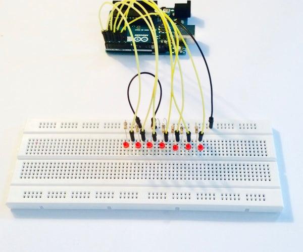 Arduino Cylon Eye