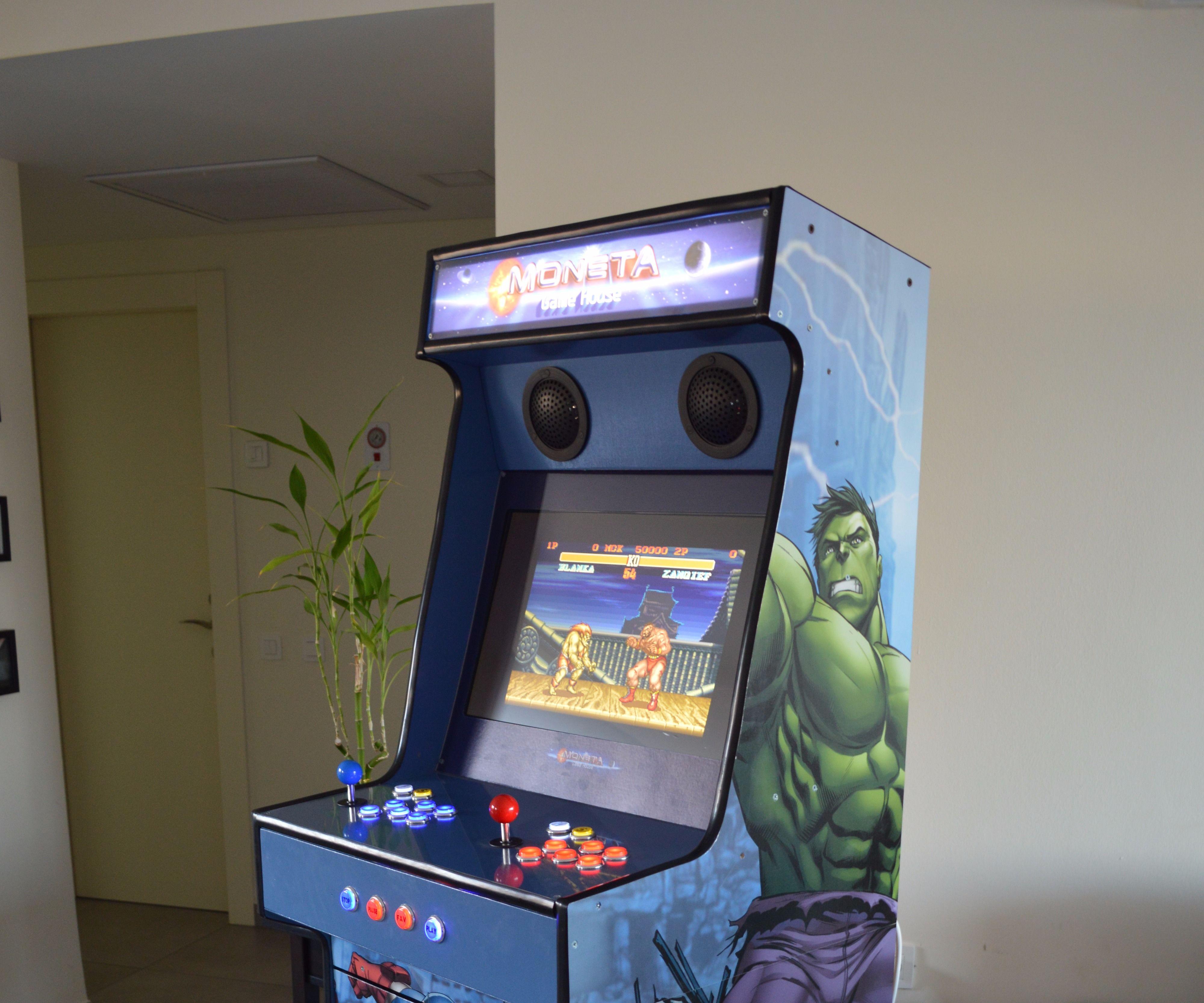 Arcade Machine - Avengers Design