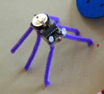 Buggy - a Crafty Programmable LED Creature
