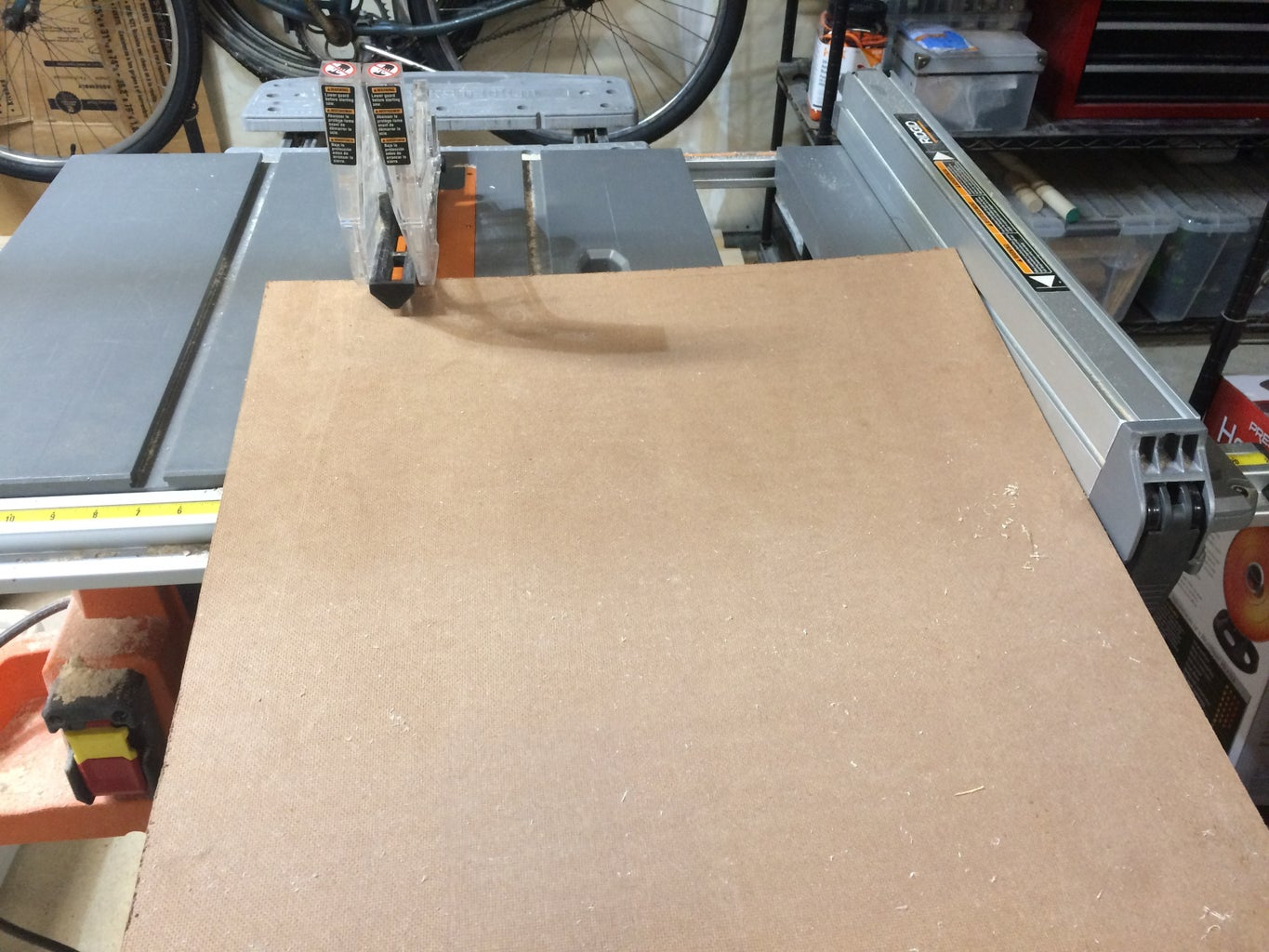 Cutting the Panels to Size
