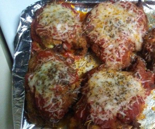 Chcken Parmesan Dinner
