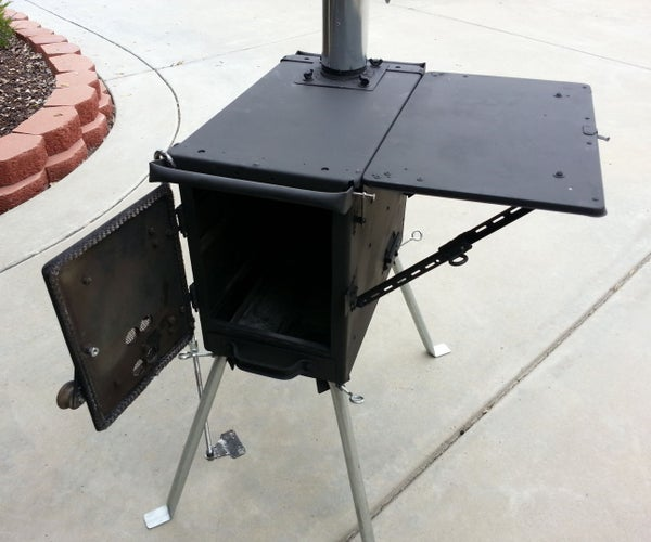 AMMO CAN STOVE USES 3 TYPES OF FUEL