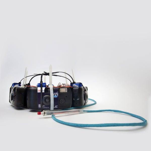 360 Degree Analog Camera Hat