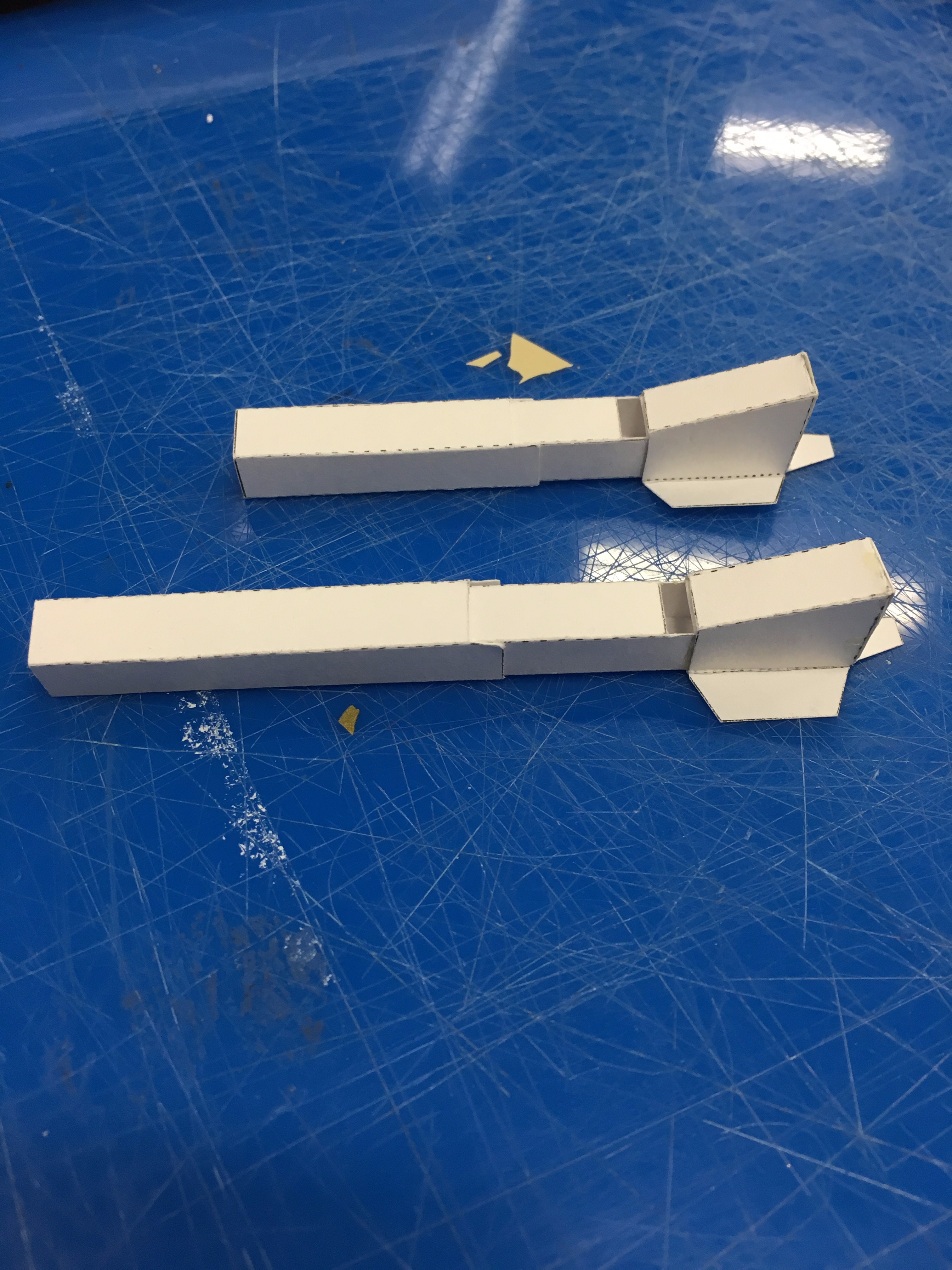Tubeable Paper Pipes
