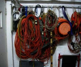 Extension Cord Storage Loops