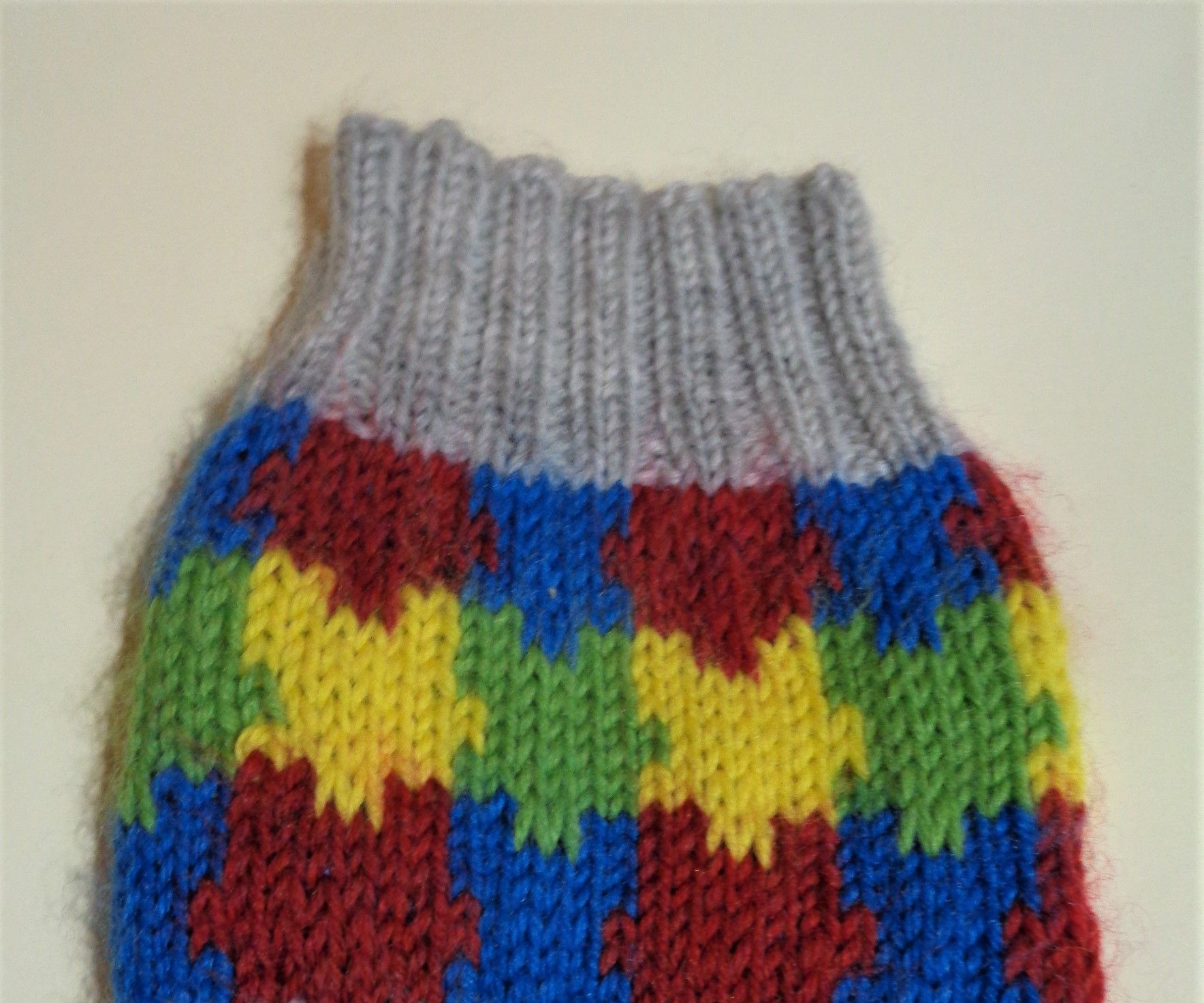 Puzzle Pieces Knit Socks