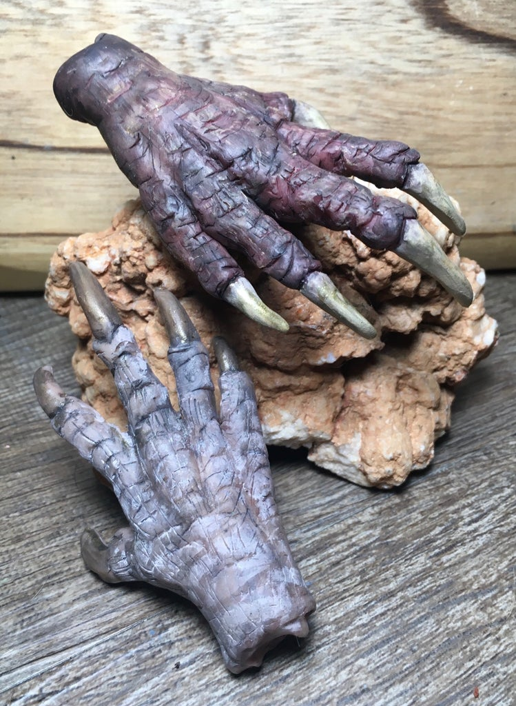 How to Make a Sculpey Deathclaw Hand!