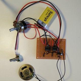 Atari Punk Console Synthesizer
