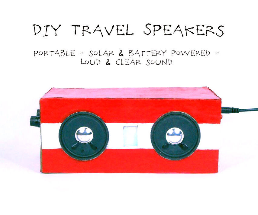 DIY Travel Speakers