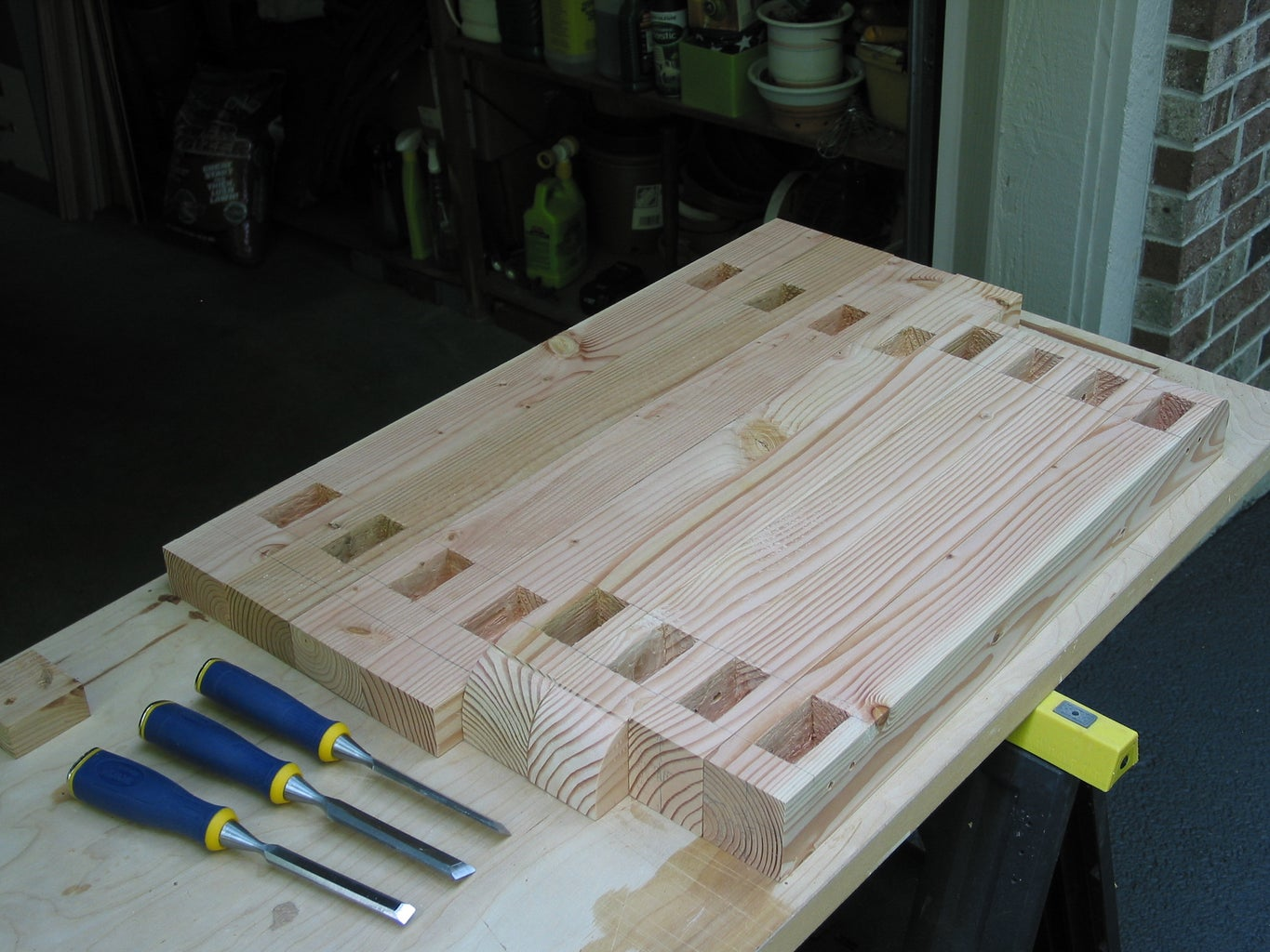 First: Create All the Mortises