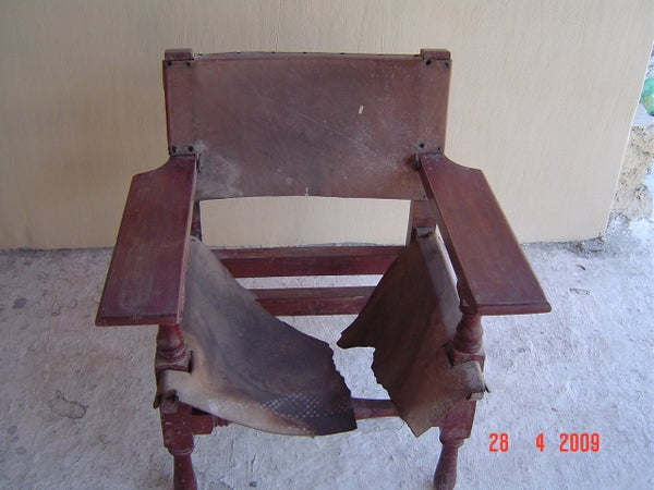 Restore Old Furniture Without Power Tools.