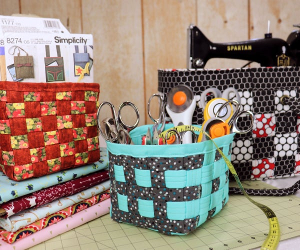 Woven Fabric Storage Cubes