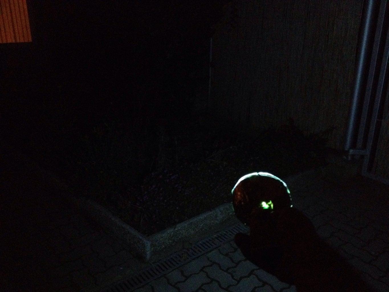 Using the Flashlight