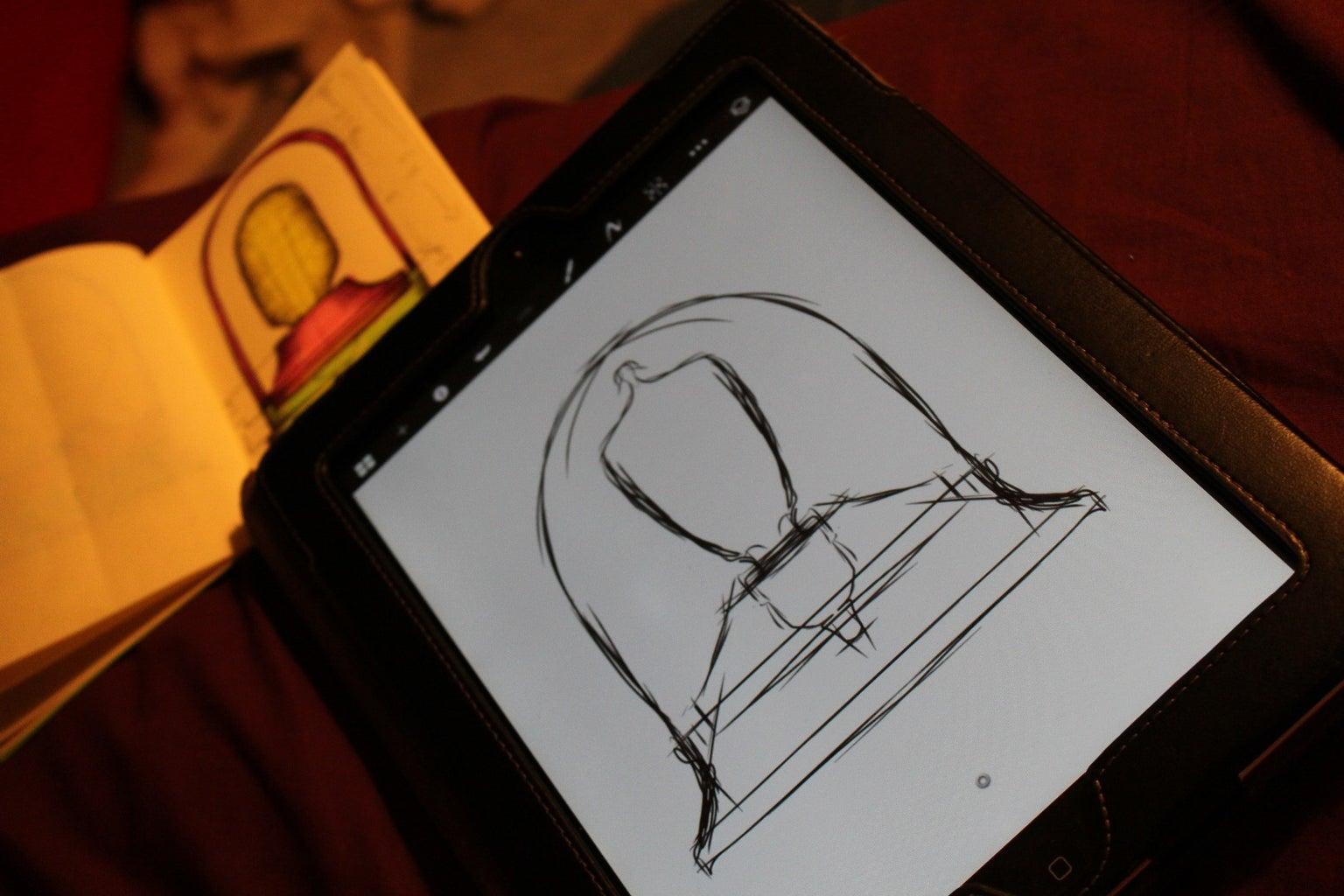 Using SketchBookX