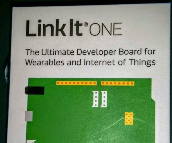 LinkIt One Tutorials - #7 LCD WiFi Web Server