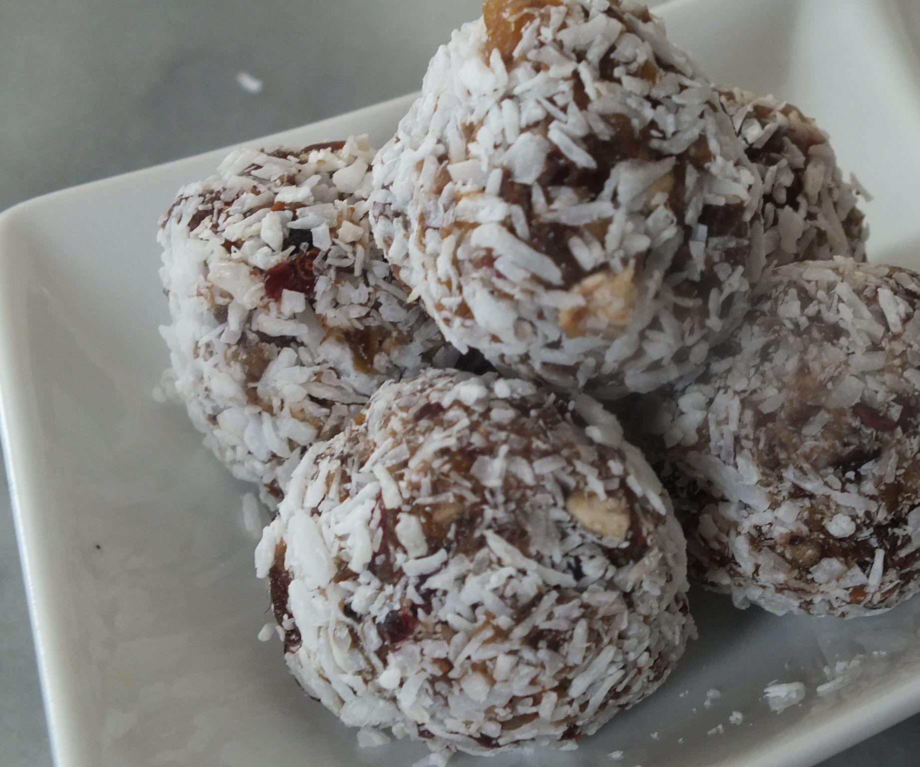 Coconut Power Bites
