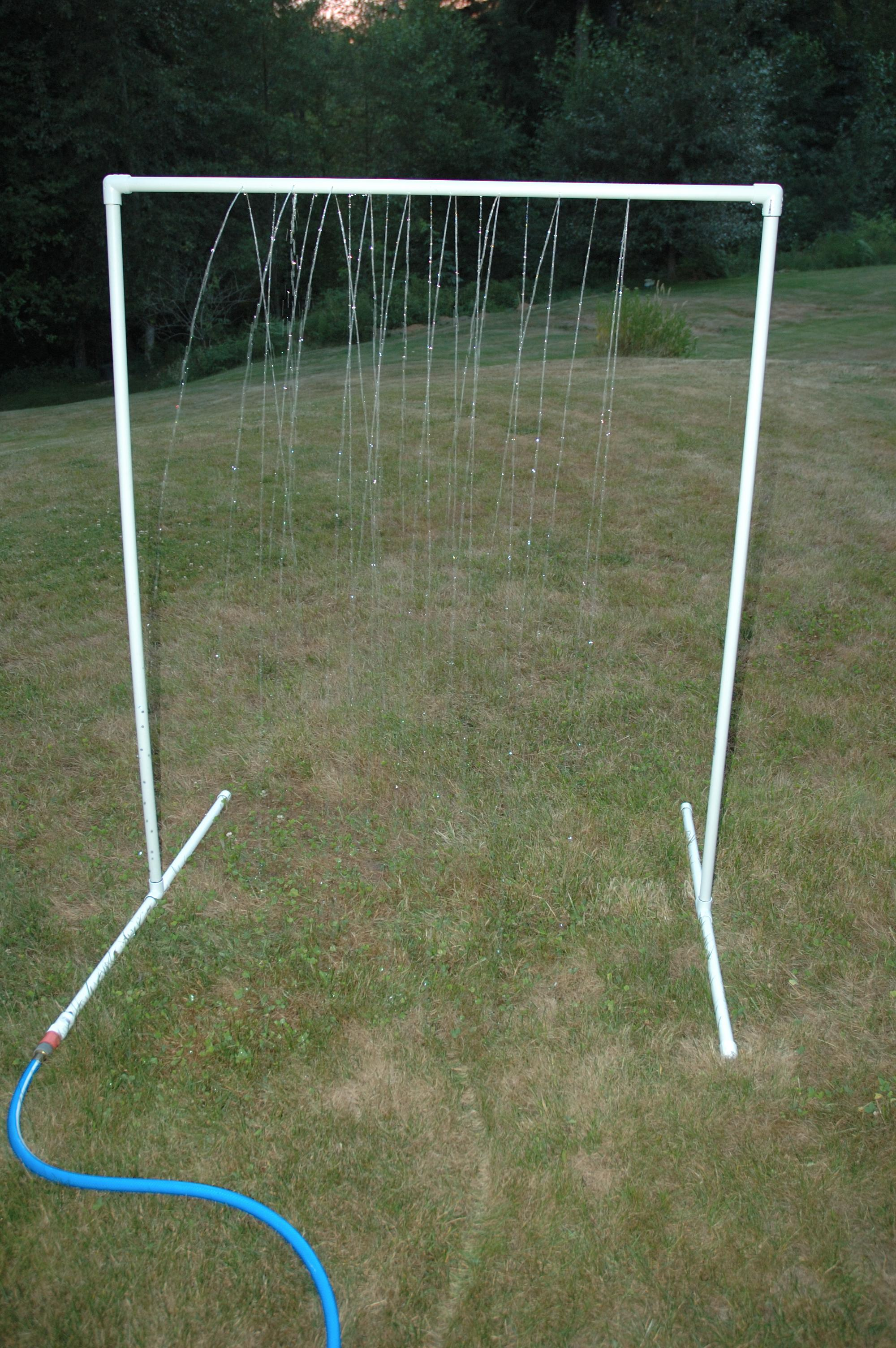 KidWash: PVC Sprinkler Water Toy