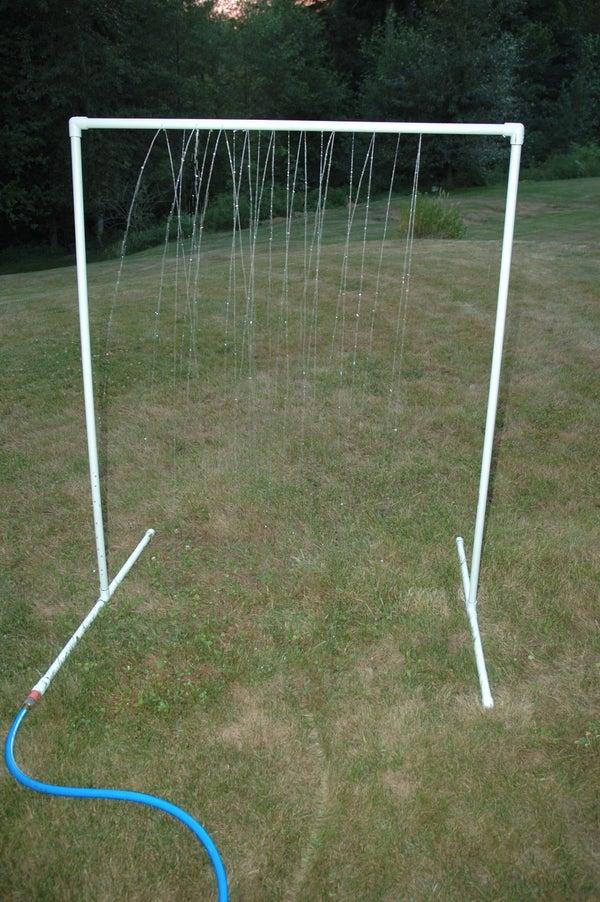 KidWash: PVC Sprinkler Water Toy