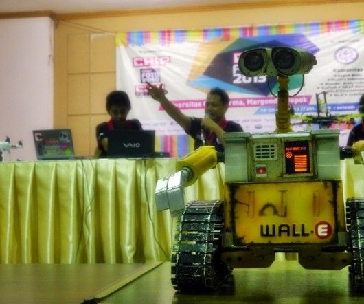 The real size LowCost robot  wall.e made from water pipe and scraps