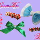DIY Make Hair Bow, Ribbon Bow, Bow Tie