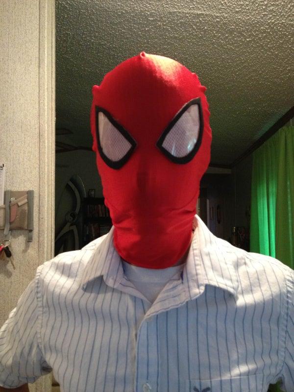 Spider-man Mask Lenses