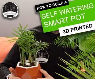 自动智能植物盆栽-(DIY,3D打印,Arduino,自动浇水,项目)