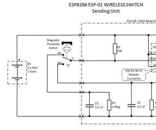 ESP-01深度睡眠模式无线开关