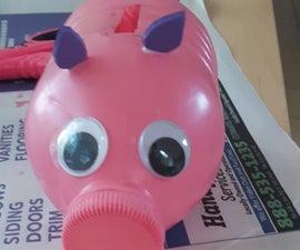 Peppy the Plastic Piggy Bank