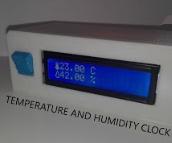 Arduino Temperature and Humidity Clock