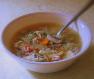 Christmas Eve Sour Soup