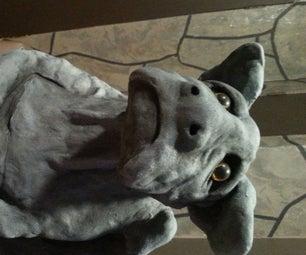Sculpt a Gargoyle From Clay
